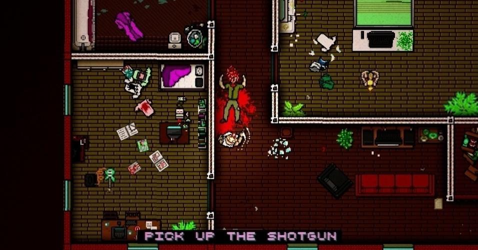 """""""Hotline Miami 2: Wrong Number"""" se passa nos anos 1990 e traz uma série de novos assassinatos"""