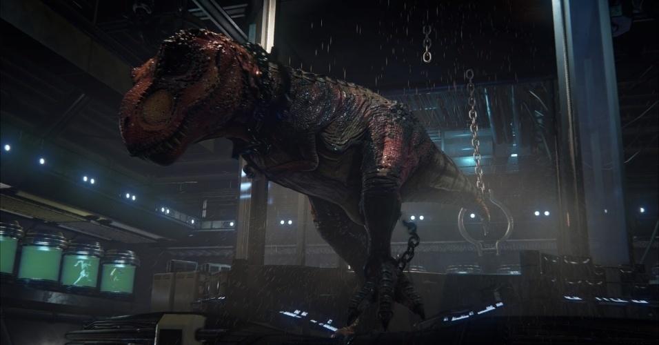 """Humanos e dinossauros coexistirão no mundo de """"Primal Carnage: Genesis"""""""