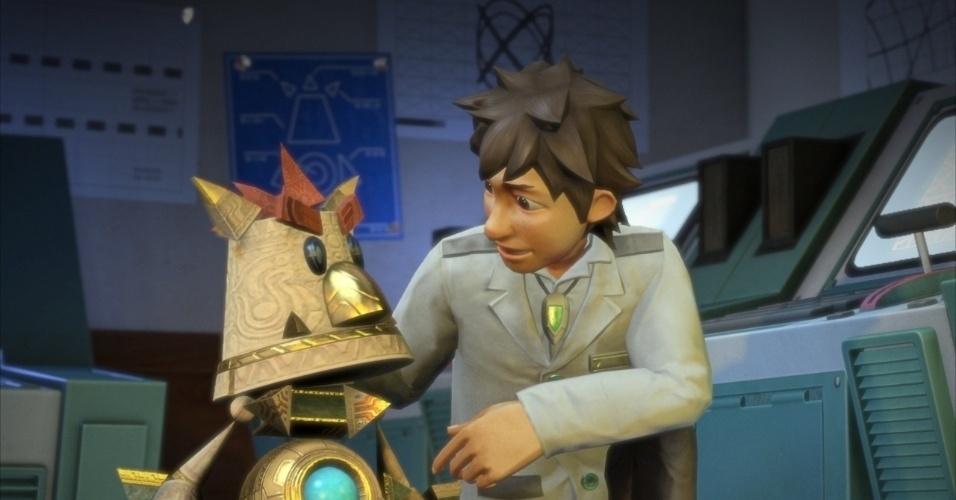 """""""Knack"""" (exclusivo do PS4) foi o primeiro jogo revelado para o console"""