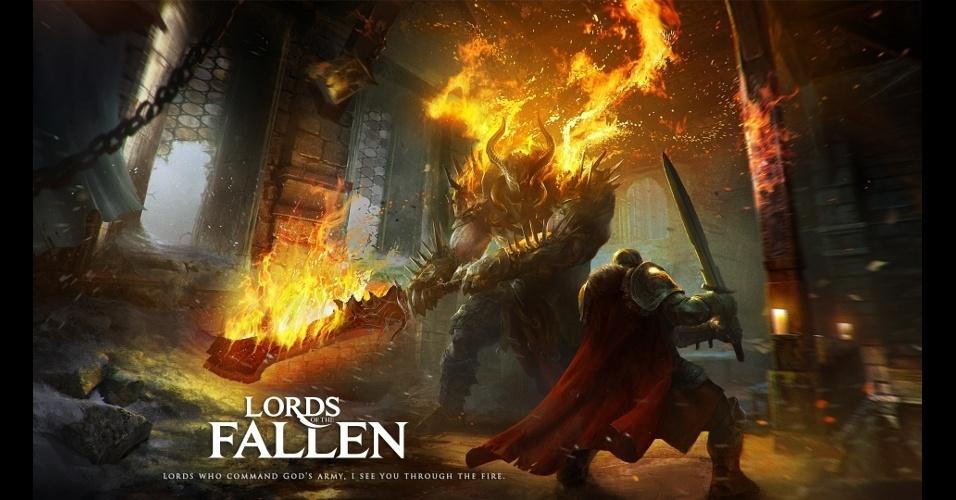 """""""Lords of the Fallen"""" é um RPG de ação com avançado sistema de combates e classes"""