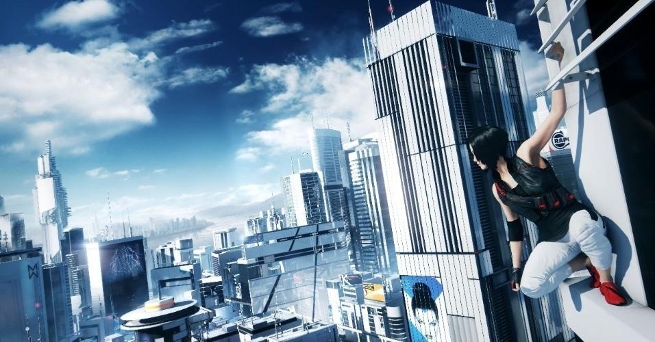 """""""Mirror's Edge"""" terá um novo início na nova geração, e deve trazer um mundo aberto a ser explorado"""