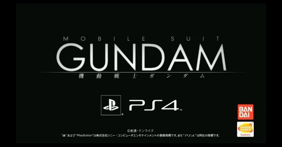 """""""Mobile Suit Gundam"""", série de sucesso no Japão, já tem título anunciado para o PlayStation 4"""