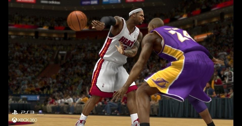 """NBA 2K14"" traz a temporada 2013-14 do basquete americano"