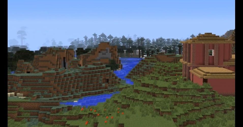 """O mundo de """"Minecraft"""" chegará também ao PlayStation 4"""