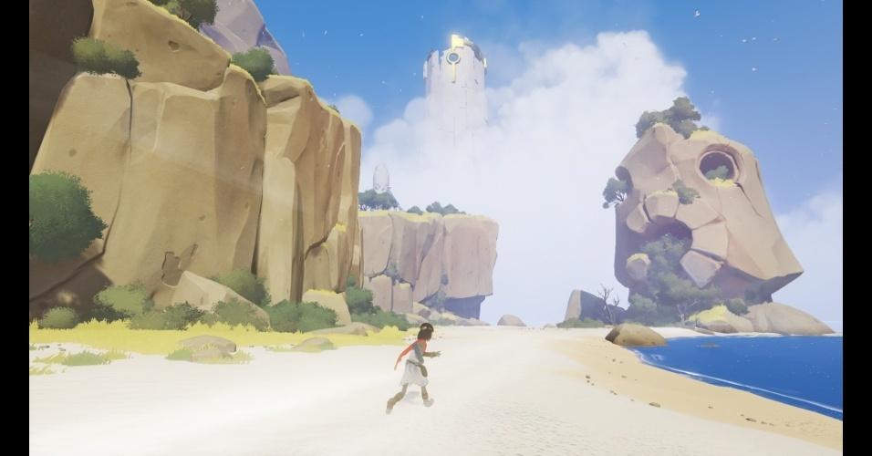 """""""Rime"""" (exclusivo do PS4) é uma aventura em mundo aberto cheia de mistérios"""