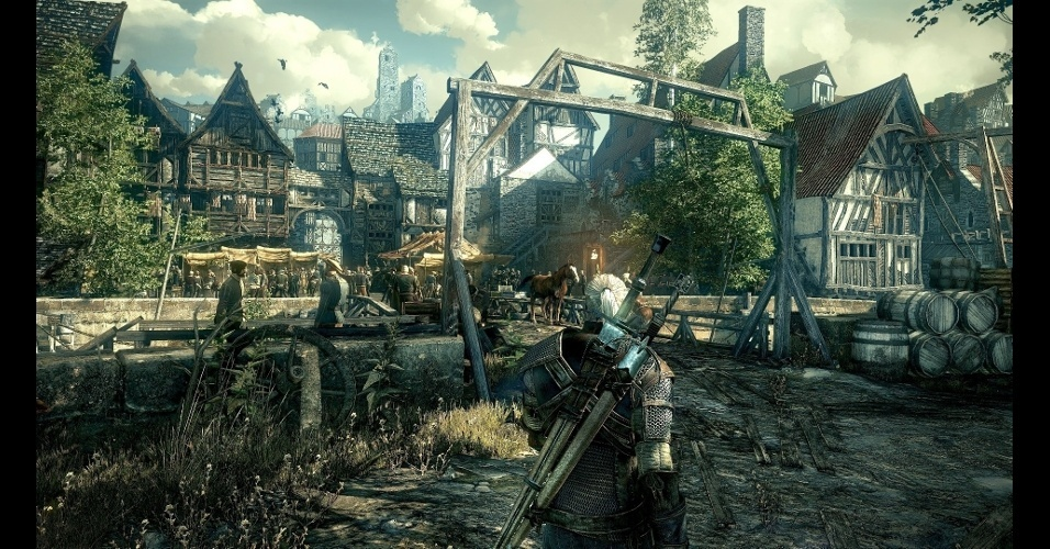 """RPG """"The Witcher 3: Wild Hunt"""" dará sequência às aventuras de Geralt em mundo aberto"""
