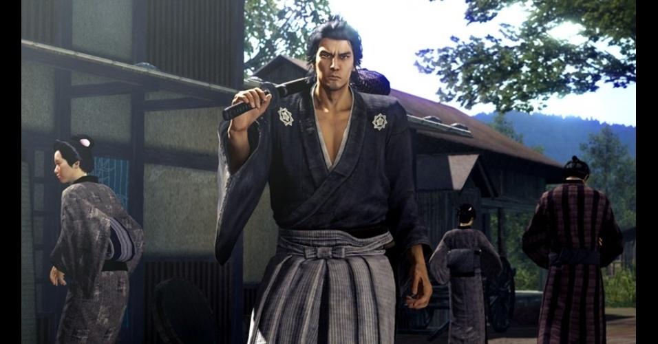 """Ryu ga Gotoku: Ishin!"" é o próximo jogo da franquia ""Yakuza"""