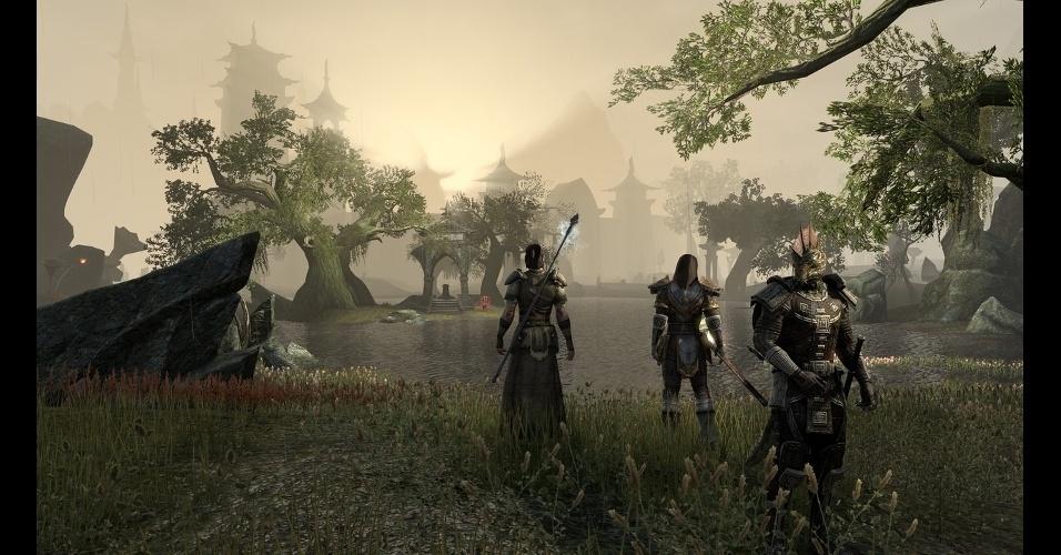 """""""The Elder Scrolls Online"""" é MMO que promete uma experiência ainda mais envolvente que a de """"Skyrim"""""""