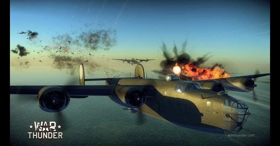 """""""War Thunder"""" é jogo gratuito que traz batalhas aéreas da Segunda Guerra e Guerra da Coreia"""