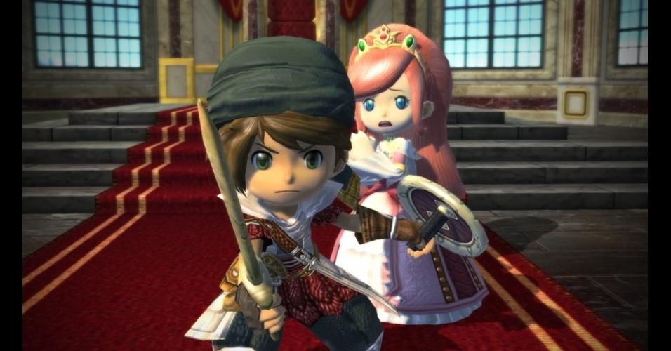 """""""Wonder Flick"""" é o novo RPG da Level-5 (""""Ni No Kuni"""", """"Professor Layton"""") e conta com trilha sonora de Nobuo Uematsu, da série """"Final Fantasy"""""""