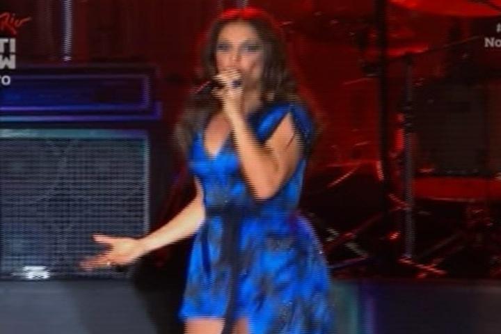13.set.2013 - Ivete Sangalo é a primeira atração do Palco Mundo no Rock in Rio