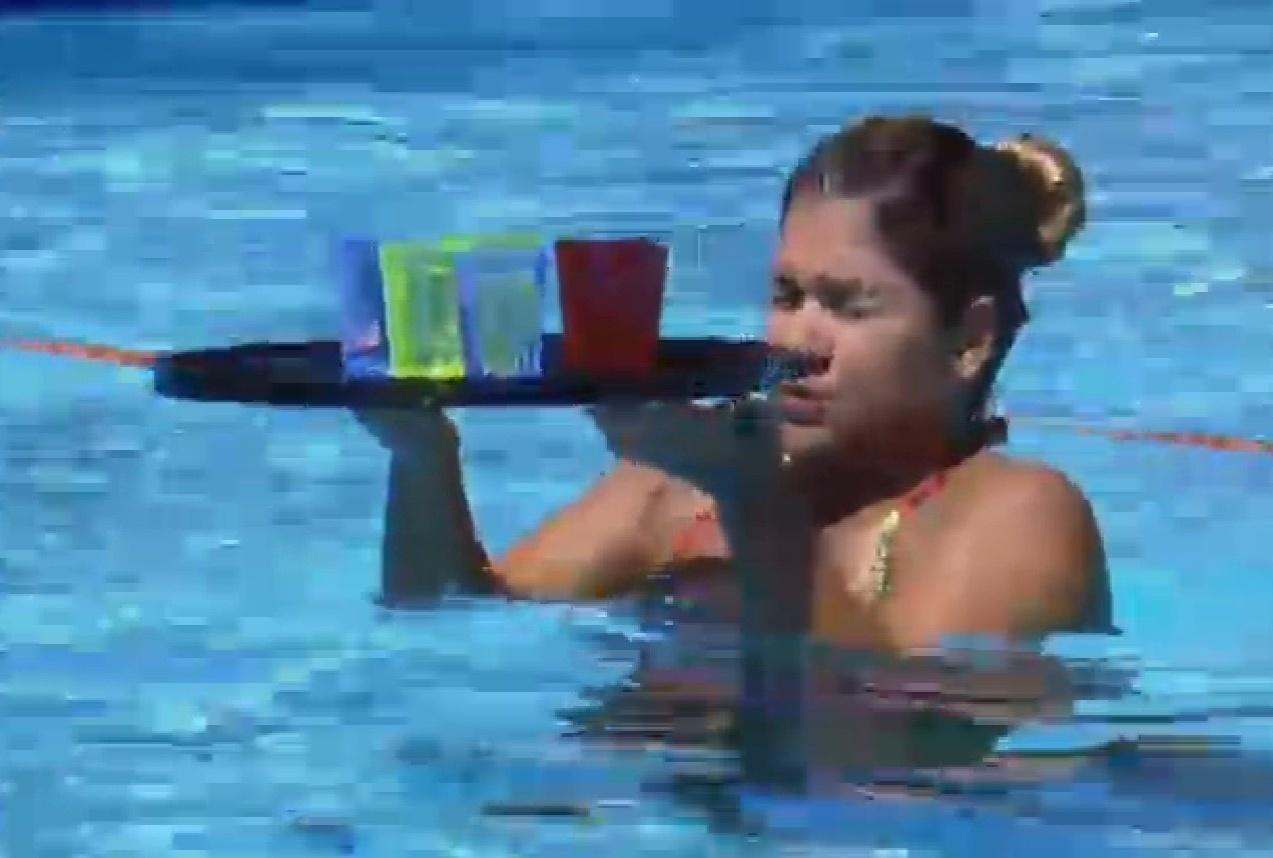 13.set.2013 - Mulher Filé durante a ativida