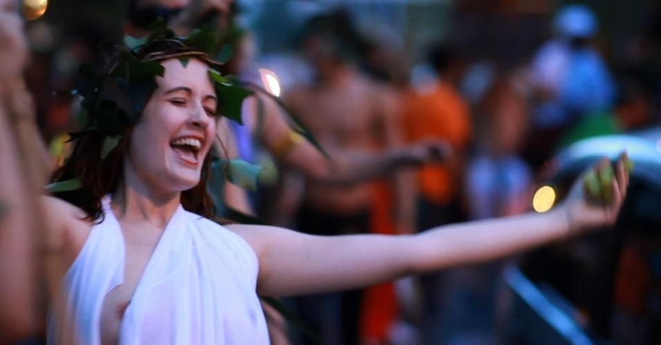 """Cena do documentário brasileiro """"Satyrianas, 78 Horas em 78 Minutos"""", de Fausto Noro"""