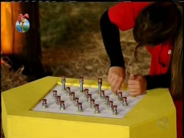 17.set.2013 - Denise participou de prova do Fazendeiro