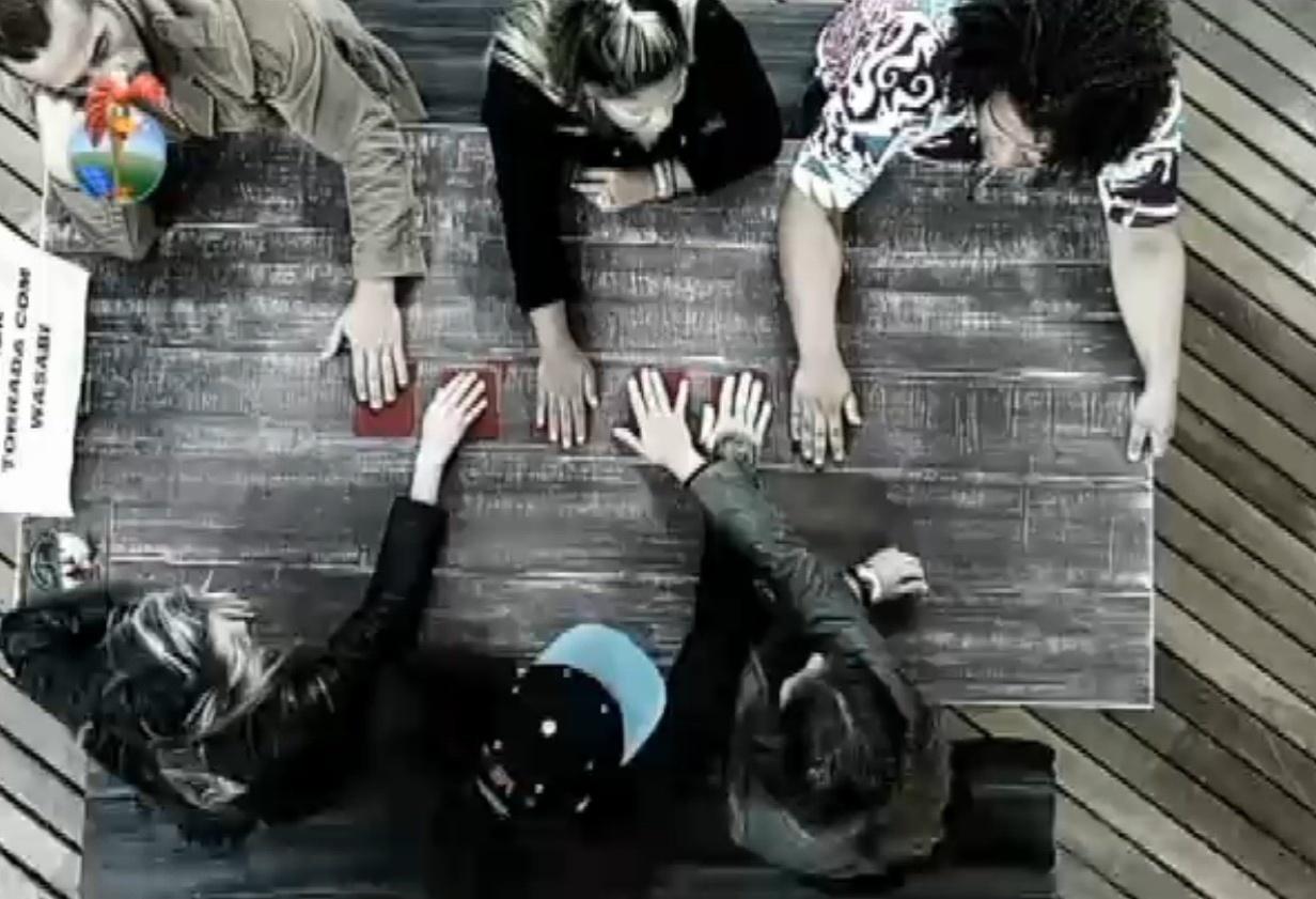 18.set.2013 - Peões participaram de atividade do castigo
