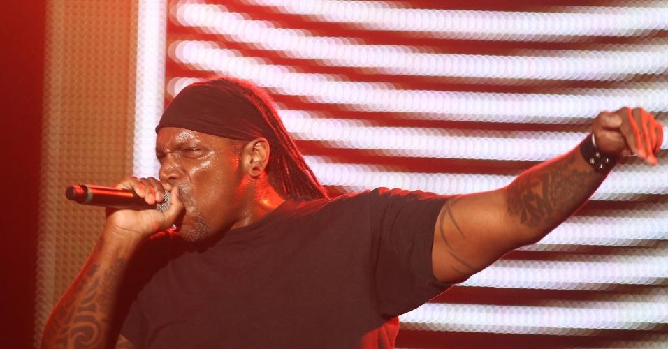 19.set.2013 - Sepultura e Tambours du Bronx se apresentam no Palco Mundo no segundo fim de semana do Rock in Rio