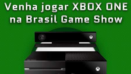 Página do Brasil Game Show no Facebook anuncia presença do Xbox One na feira