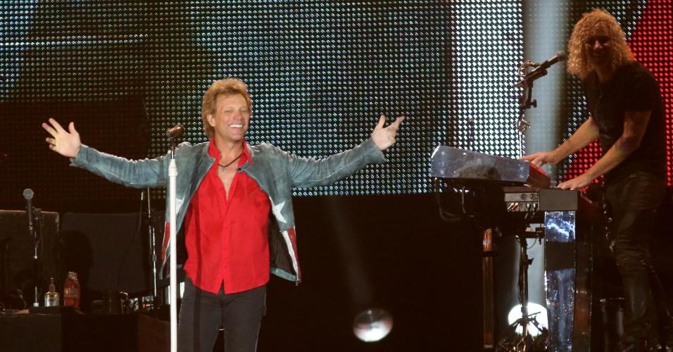 20.set.2013 - Bon Jovi se apresenta no Palco Mundo do Rock in Rio
