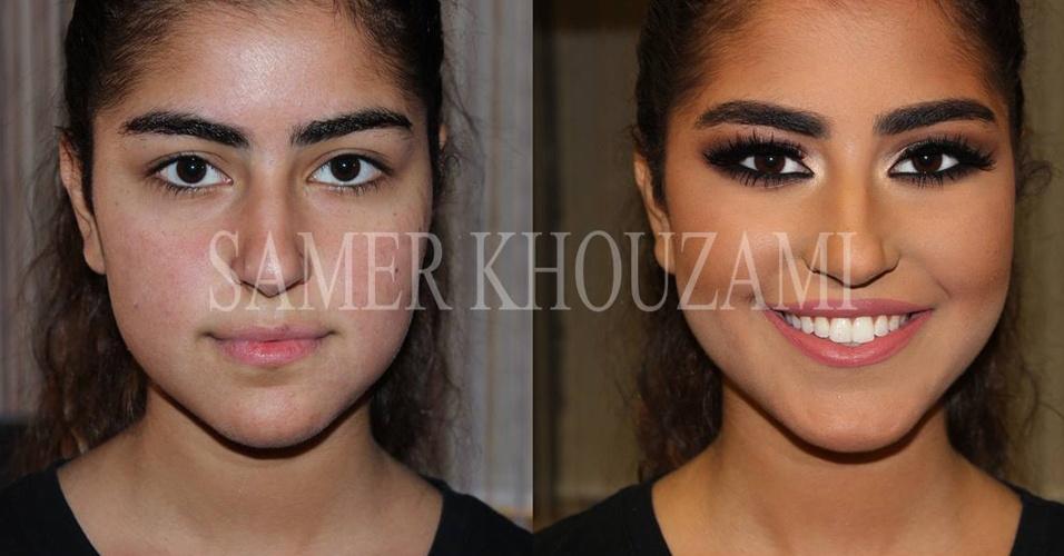 Maquiagem Samer A. Khouzam 1