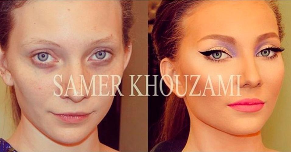 Maquiagem Samer A. Khouzam 7