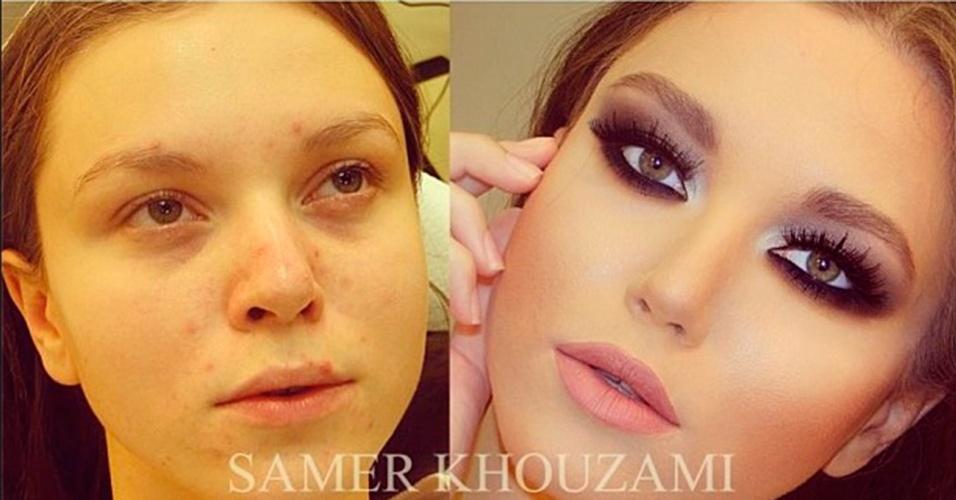 Maquiagem Samer A. Khouzam 8