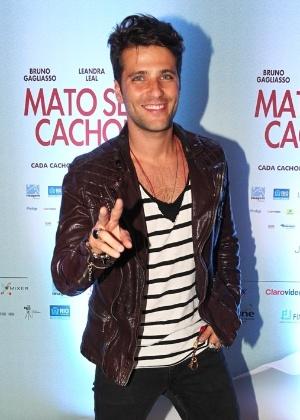 O ator Bruno Gagliasso