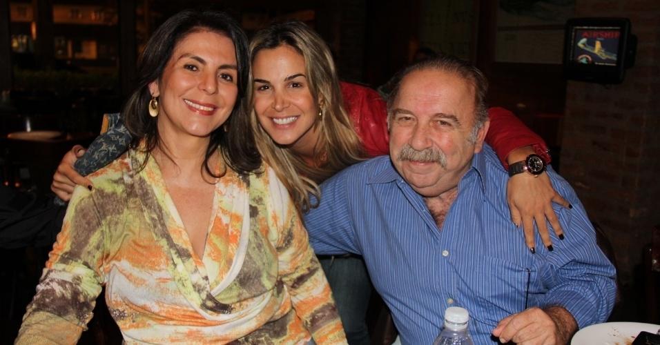 """... Dona Xepa"""", que assistiu junto ao último capítulo da novela, no Rio"""