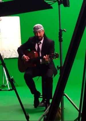 Bell Marques divulga foto do seus primeiro clipe em carreira solo