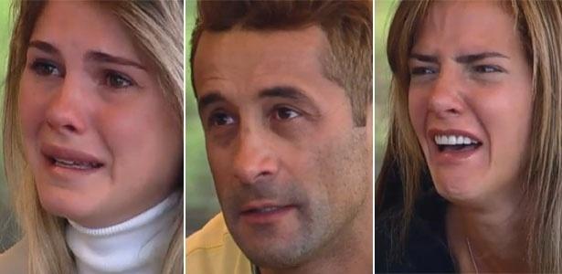 Finalistas se emocionam com depoimento dos familiares