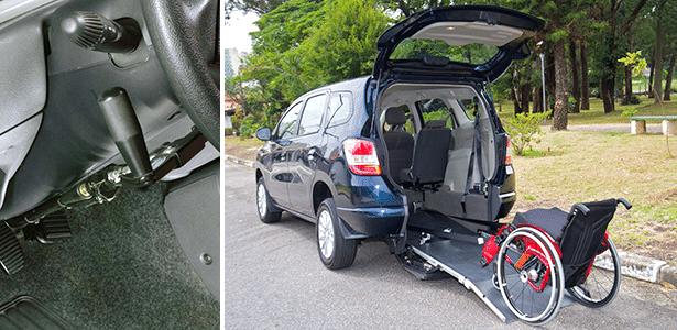 Na Cavenaghi, o barato e o caro: acionamento manual do freio e solução de transporte para cadeirante
