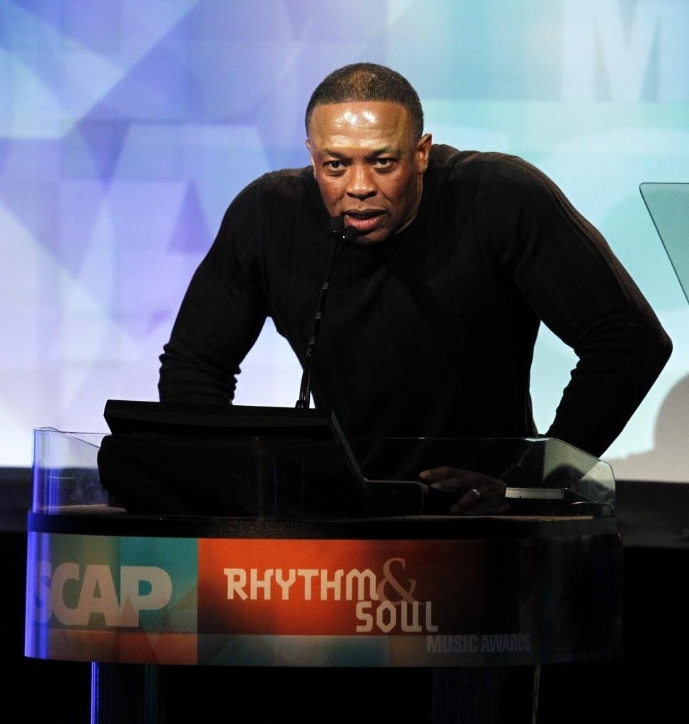O rapper Dr. Dre