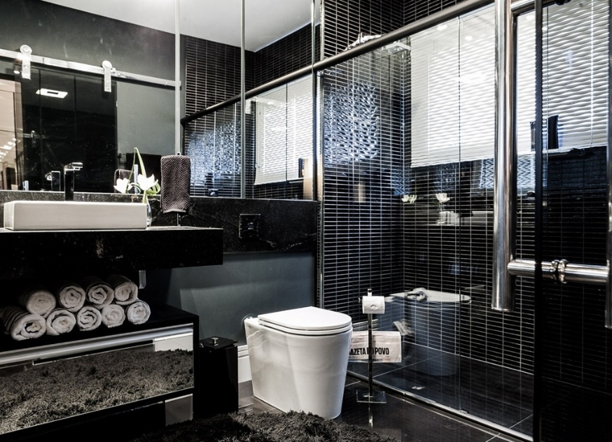 Escolha um novo modelo de box para o seu banheiro  BOL Fotos  BOL Fotos -> Projeto De Banheiro Com Banheira E Box