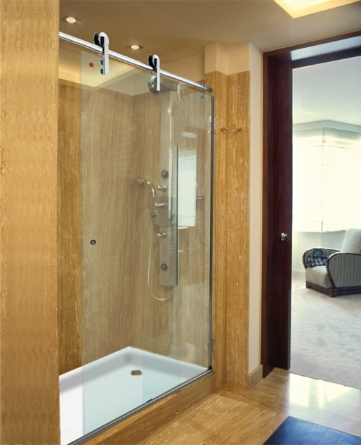Escolha um novo modelo de box para o seu banheiro  Casa e Decoração  UOL Mu -> Metragem Minima Para Banheiro Com Banheira
