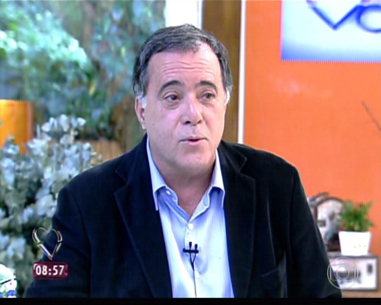 1.out.2013 - Tony Ramos fala sobre prefeito corrupto que interpreta em