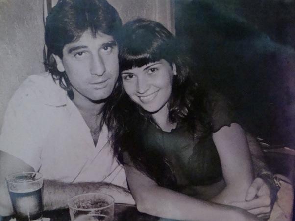 O ex-jogador Renato Gaúcho teve um affair com Solange Gomes em 1995