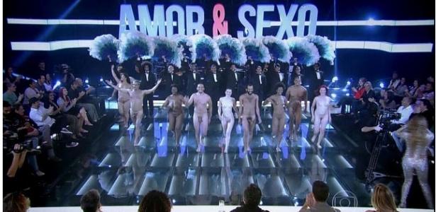 """Figurantes entram nus na abertura da última temporada de """"Amor e Sexo"""""""