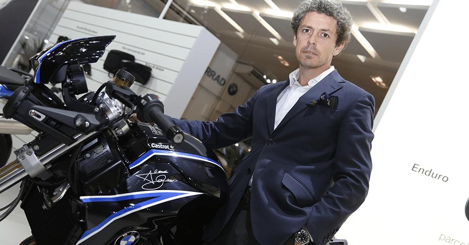 Frederico Alvarez, diretor da BMW Motorrad do Brasil
