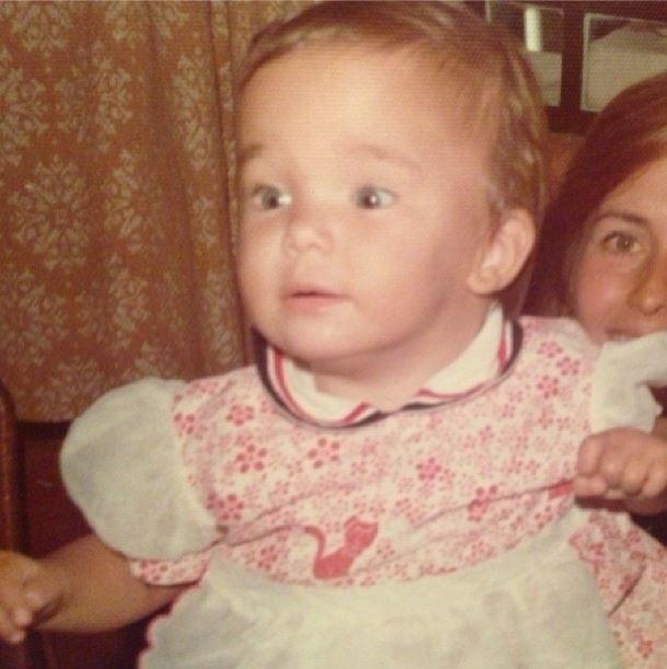 10.out.2013 - Às vésperas do Dia das Crianças, Ticiane Pinheiro mostra foto aos dois anos
