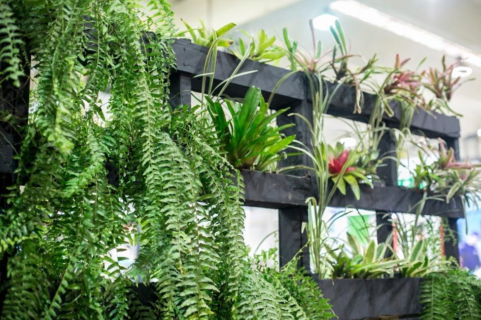 decoracao jardim paletes : decoracao jardim paletes:Materiais de reuso e espaços para meditar são destaques em mostra de