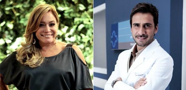 """Em """"Amor À Vida"""", Susana Vieira e Júlio Rocha são Pilar e Jacques, respectivamente"""