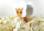 Fa�a boneco 3D das Pipocas Alien�genas de Foodland