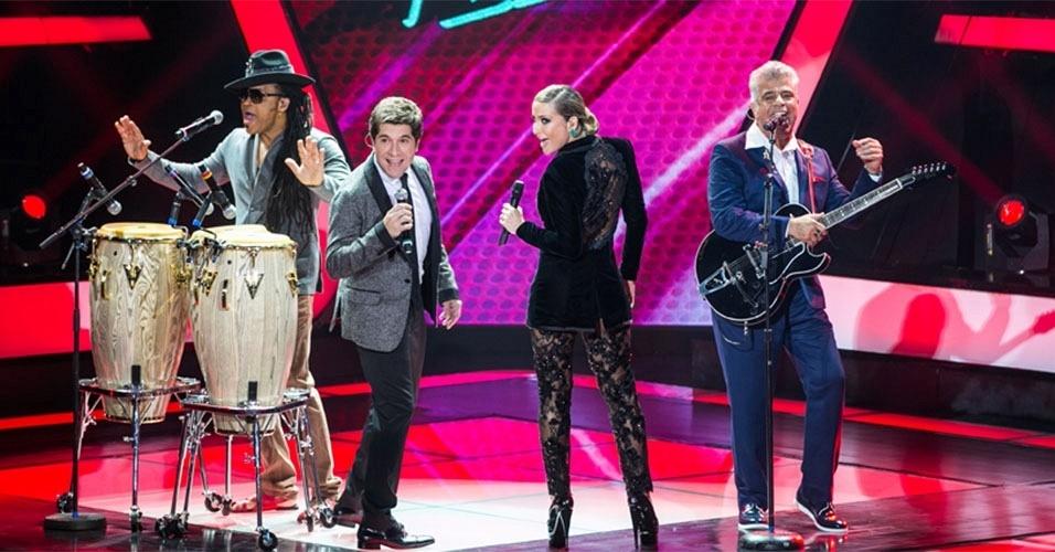 Carlinhos Brown, Daniel, Claudia Leitte e Lulu Santos