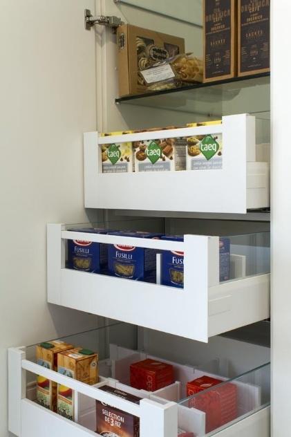 Cozinha planejada permite a escolha de materiais - Armarios despensa ...