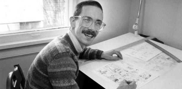 """Bill Watterson, o criador da tirinha """"Calvin e Haroldo"""""""