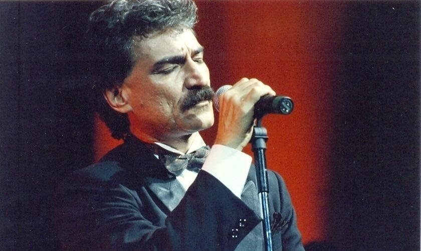O cantor Belchior no Prêmio da Música Brasileira, em 1994