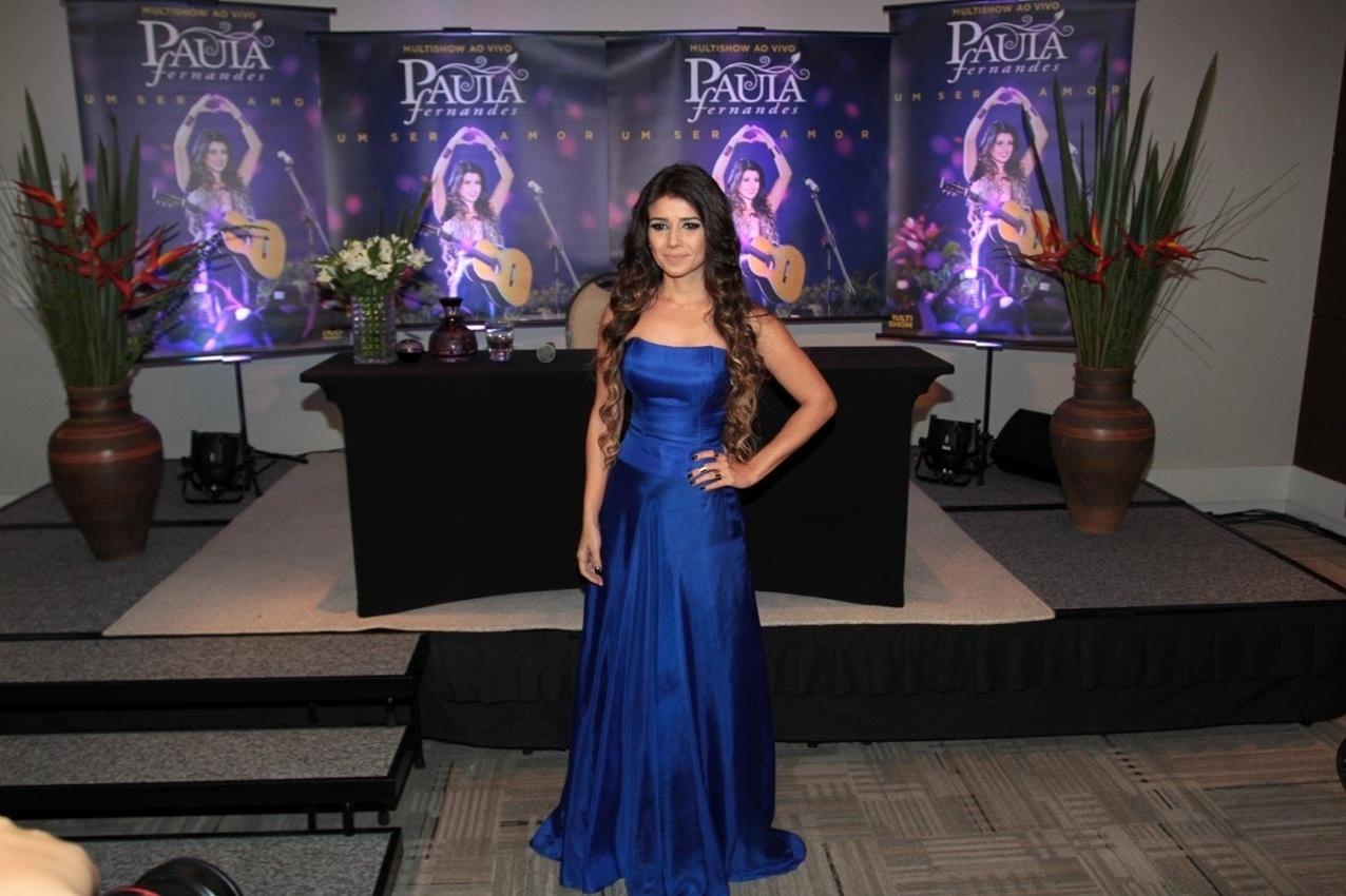 22.out.2013 - Paula Fernandes lança o DVD