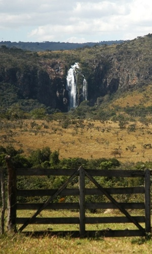 A região da Serra da Canastra é repleta de cachoeiras, muitas visíveis apenas nas épocas das chuvas