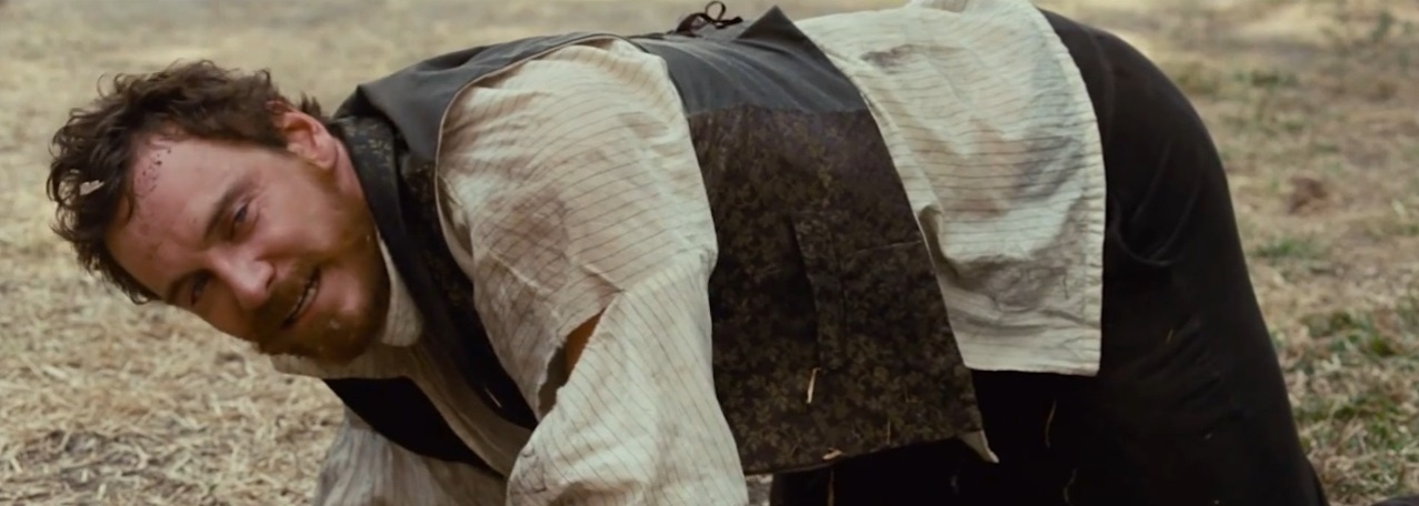 "Michael Fassbender em ""12 Years a Slave"""