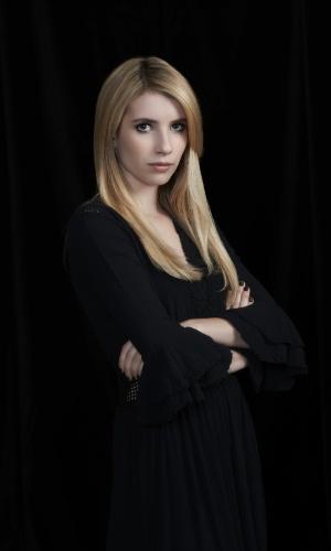 """Emma Roberts é Maddison; uma jovem bruxa que deixou sua carreira em Hollywood em """"American Horror Story - Coven"""""""