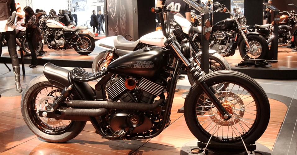 Harley-Davidson Street 750 customizada